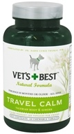 Vet's Best - Travel Calm - 40 Chewable Tablets CLEARANCE PRICED