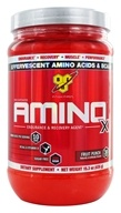 BSN - Amino X BCAA Endurance and Recovery Agent Fruit Punch - 15.3 oz. by BSN