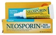 Neosporin - First Aid Antiobiotic Pain Relieving Cream Maximum Strength - 0.5 oz.
