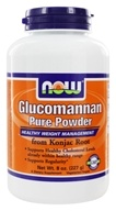 NOW Foods - Glucomannan Pure Powder from Konjac Root - 8 oz.