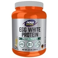AHORA Sports Egg White Protein Powder Creamy Vanilla - 1.5 lbs.