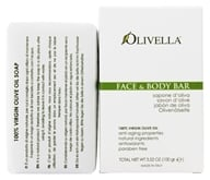 Olivella - Virgin Olive Oil Face & Body Bar Soap Scented - 3.52 oz. (764412310019)