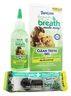 Image of Tropiclean - Fresh Breath Clean Teeth Gel - 4 oz.