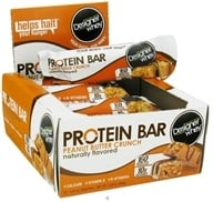 Designer Protein - Designer Whey Protein Bar Peanut Butter Crunch - 1.41 oz. CLEARANCE PRICED