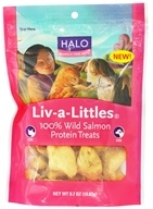 Image of Halo Purely for Pets - Liv-A-Littles 100% Wild Salmon Protein Treats - 0.7 oz. CLEARANCE PRICED
