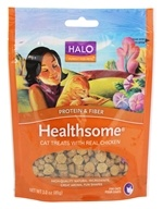 Image of Halo Purely for Pets - Liv-a-Littles Healthsome Cat Treats Real Chicken - 3 oz.