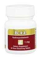 Intensive Nutrition, Inc. - B-12 Hydroxycobalamin 1000 mcg. - 60 Tablets