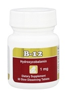 Intensive Nutrition, Inc. - B-12 Hydroxycobalamin 1000 mcg. - 60 Tablets, from category: Professional Supplements