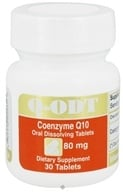 Image of Intensive Nutrition, Inc. - Q-ODT Coenzyme Q10 80 mg. - 30 Tablets
