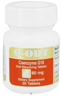 Intensive Nutrition, Inc. - Q-ODT Coenzyme Q10 80 mg. - 30 Tablets, from category: Professional Supplements