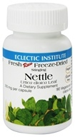 Eclectic Institute - Stinging Nettle Fresh Raw Freeze-Dried 300 mg. - 90 Vegetarian Capsules