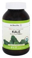 Image of Eclectic Institute - Kale Powder Raw Fresh Freeze-Dried - 90 Grams