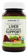 Eclectic Institute - Liver & Bile Purification Powder Raw Fresh Freeze-Dried - 90 Grams, from category: Herbs