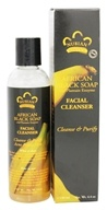 Nubian Heritage - African Black Soap Facial Cleanser - 4.4 oz. - $17.99