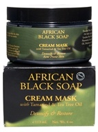 Nubian Heritage - African Black Soap Cream Mask - 4 oz. - $20.48