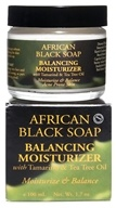 Nubian Heritage - African Black Soap Balancing Moisturizer - 1.7 oz., from category: Personal Care