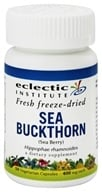 Eclectic Institute - Sea Buckthorn Fresh Freeze-Dried 400 mg. - 50 Vegetarian Capsules (023363305629)