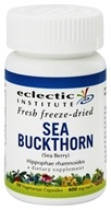 Eclectic Institute - Sea Buckthorn Fresh Freeze-Dried 400 mg. - 50 Vegetarian Capsules - $8.13