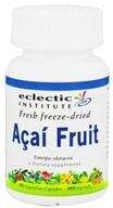 Image of Eclectic Institute - Acai Fruit Fresh Freeze-Dried 400 mg. - 90 Vegetarian Capsules