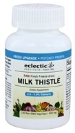 Image of Eclectic Institute - Milk Thistle Seed Meal Fresh Freeze-Dried 600 mg. - 120 Vegetarian Capsules
