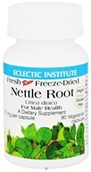 Image of Eclectic Institute - Nettle Root For Male Health Fresh Raw Freeze-Dried 250 mg. - 90 Vegetarian Capsules