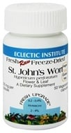 Eclectic Institute - St. John's Wort Flower & Leaf Fresh Raw Freeze-Dried 300 mg. - 50 Vegetarian Capsules by Eclectic Institute