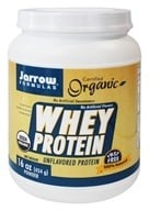 Jarrow Formulas - Organic Whey Protein Powder Unflavored - 16 oz.