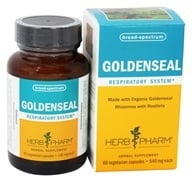 Herb Pharm - Goldenseal 540 mg. - 60 Vegetarian Capsules by Herb Pharm
