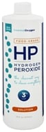 Essential Oxygen - Hydrogen Peroxide Solution 3% Food Grade - 16 fl. oz.