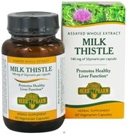 Image of Herb Pharm - Milk Thistle 140 mg. - 60 Vegetarian Capsules CLEARANCE PRICED