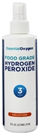 Essential Oxygen - Hydrogen Peroxide Solution 3% Food Grade - 8 oz.