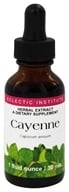 Eclectic Institute - Cayenne Herbal Extract - 1 oz.
