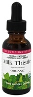 Eclectic Institute - Milk Thistle Organic Herbal Extract - 1 oz., from category: Herbs