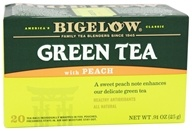 Bigelow Tea - Green Tea with Peach - 20 Tea Bags (072310001305)
