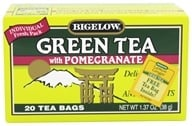 Bigelow Tea - Green Tea with Pomegranate - 20 Tea Bags (072310008373)