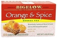Bigelow Tea - Herb Tea All Natural Caffeine Free Orange & Spice - 20 Tea Bags (072310000506)