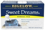 Image of Bigelow Tea - Herb Tea All Natural Caffeine Free Sweet Dreams - 20 Tea Bags
