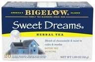 Bigelow Tea - Herb Tea All Natural Caffeine Free Sweet Dreams - 20 Tea Bags