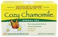 Bigelow Tea - Herb Tea All Natural Caffeine Free Cozy Chamomile - 20 Tea Bags by Bigelow Tea