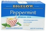 Bigelow Tea - Herb Tea All Natural Caffeine Free Peppermint - 20 Tea Bags, from category: Teas