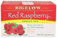 Bigelow Tea - Herb Tea All Natural Caffeine Free Red Raspberry - 20 Tea Bags - $2.98