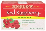 Bigelow Tea - Herb Tea All Natural Caffeine Free Red Raspberry - 20 Tea Bags (072310000377)