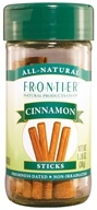 "Frontier Natural Products - All-Natural Cinnamon Sticks - 2 3/4"" - 1.28 oz. CLEARANCE PRICED"