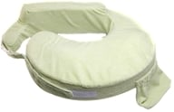 Image of My Brest Friend - Deluxe Nursing Pillow Green