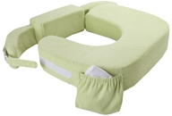My Brest Friend - Twin Plus Nursing Pillow Green by My Brest Friend
