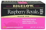 Bigelow Tea - Black Tea Raspberry Royale - 20 Tea Bags, from category: Teas