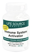 Life Source Basics - Immune System Activator with BetaRight WGP 250 mg. - 60 Capsules