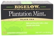 Image of Bigelow Tea - Black Tea Plantation Mint - 20 Tea Bags