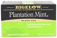 Bigelow Tea - Black Tea Plantation Mint - 20 Tea Bags (072310001893)
