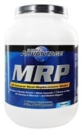 Pure Advantage - MRP All Natural Meal-Replacement Shake Vanilla Flavor - 3 lbs., from category: Sports Nutrition